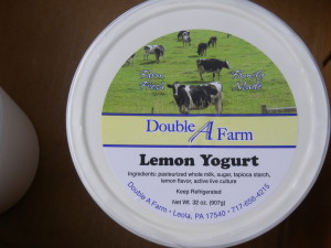 LEMON YOGURT